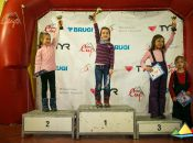 Zwycięzcy - najmłodsza grupa dziewcząt