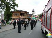 Występ orkiestry strażackiej