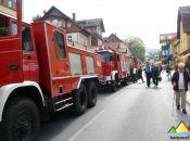 Zjazd zabytkowych wozów strażackich