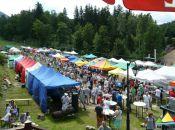 Teren Festiwalu - Jarmark Ducha Gór