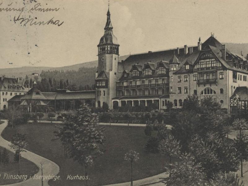 rzed Domem Zdrojowym ok 1910