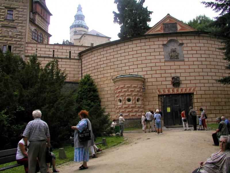Zamek Frydland  w Czechach