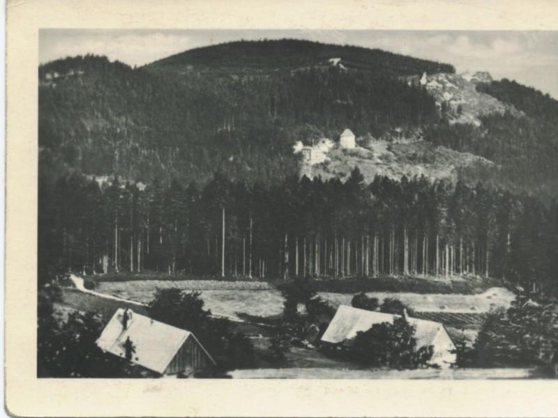 Grabowiec na dawnej pocztówce