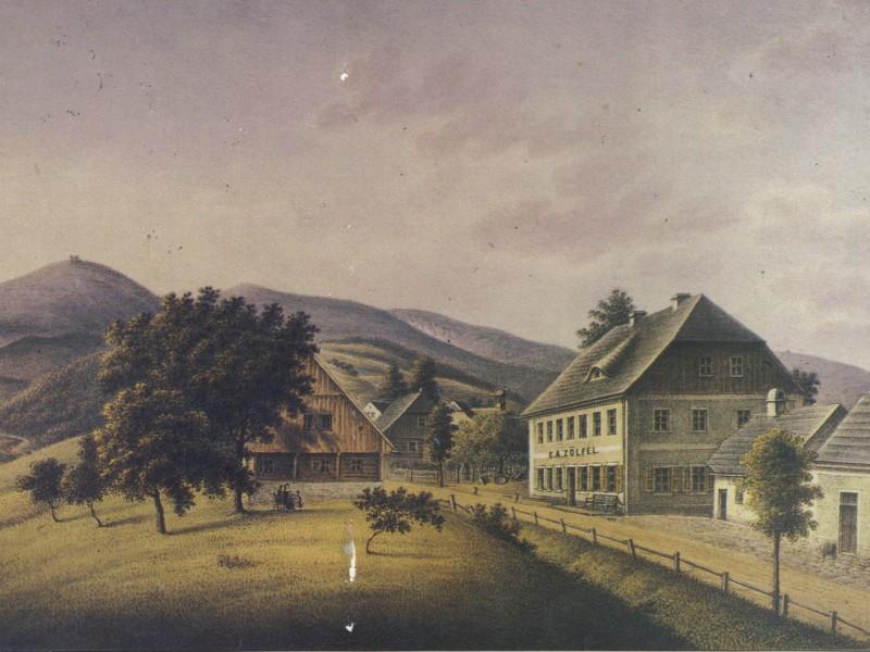 Dom ostatniego laboranta - 1827 r.