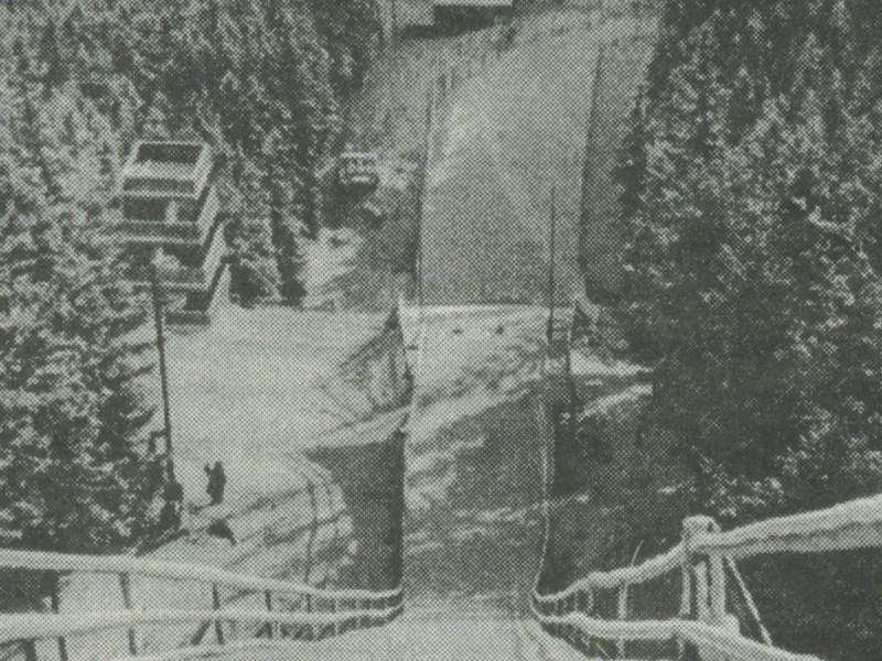 Orlinek na starym zdjęciu