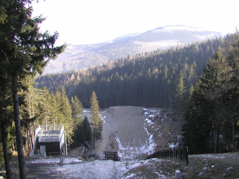 Orlinek - widok z góry