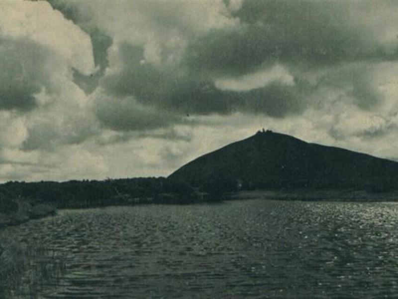 Widok na Śnieżkę - 1936 r.